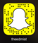 @theEDMist on Snapchat
