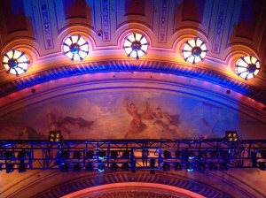 The show was held at the Warfield, a theater space, instead of the Regency Ballroom.