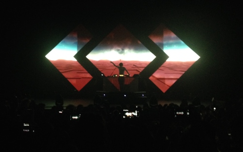 Madeon kicked off his Adventure Tour at the Warfield in San Francisco on April 10th