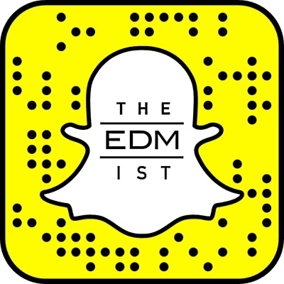 @theEDMist Snapchat QR code (a.k.a. Snapcode). Tap from mobile to add automatically.