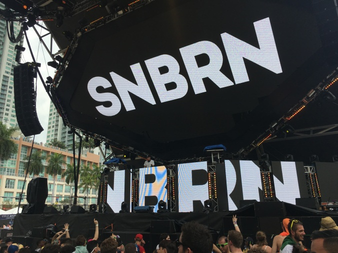 SNBRN at the Worldwide Stage on Sunday. Photo © J.T. Fales.