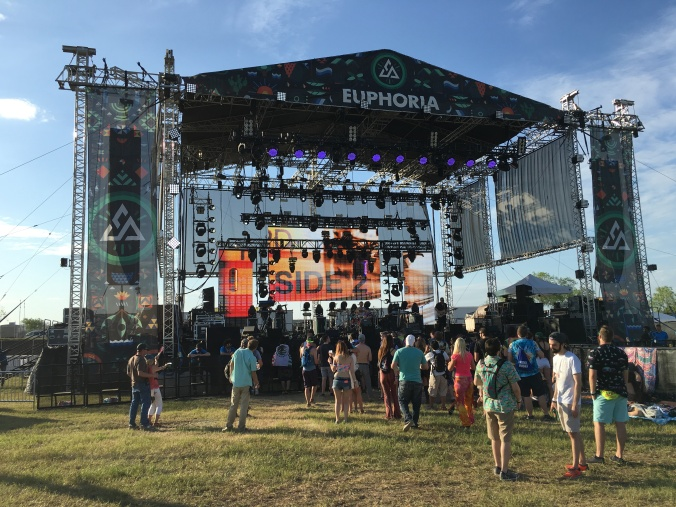 Mainstage at Euphoria festival in Austin
