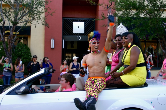 Employees from Pulse Nightclub celebrate Pride in 2013.